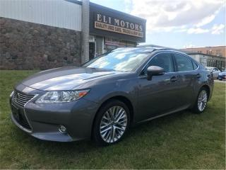 Used 2015 Lexus ES 350 Ultra Premium | NAVI | BLIS | Backup Cam | Sensors for sale in North York, ON