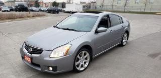 Used 2008 Nissan Maxima SL, Leather, Auto 3/Y warranty available for sale in Toronto, ON