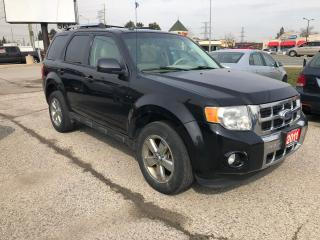 Used 2011 Ford Escape Limited, Service Records, Warranty, Certified for sale in Woodbridge, ON