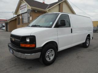Used 2013 Chevrolet Express 2500 2500HD Cargo 4.8L Loaded Divider Shelving 194,000K for sale in Etobicoke, ON