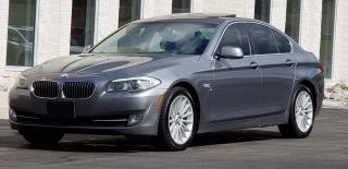 Used 2012 BMW 5 Series Certified,535i xDrive, 2 years Warranty for sale in Mississauga, ON