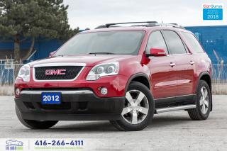 Used 2012 GMC Acadia 1 OWNER GM SERVICED SLT2 AWD NAVI LEATHER ROOF CAM for sale in Bolton, ON