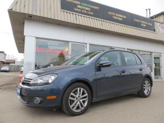 Used 2011 Volkswagen Golf TDI,SUPER LOW KM, STRAIGHT FROM VW CANADA,1 OWNER for sale in Mississauga, ON