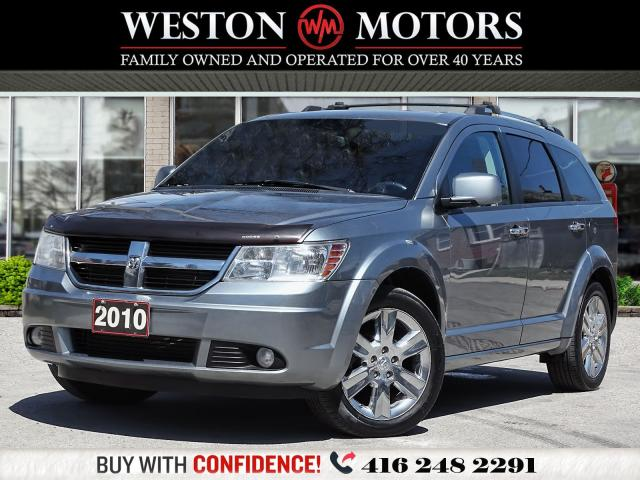 2010 Dodge Journey R/T*V6*AWD*DVD*7PASS*SUNROOF*LEATHER!!*REV CAM!!*
