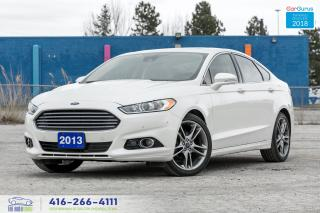 Used 2013 Ford Fusion TITANIUM AWD 1 OWNER NO ACCIDENT CERTIFIED SERVICE for sale in Bolton, ON
