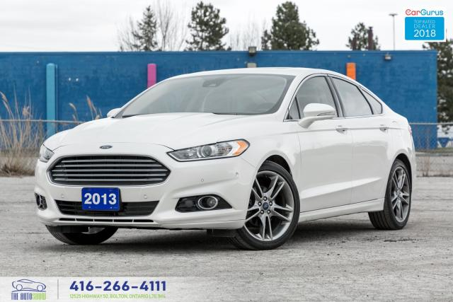 2013 Ford Fusion TITANIUM AWD 1 OWNER NO ACCIDENT CERTIFIED SERVICE