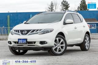 Used 2014 Nissan Murano PLATINUM NAVI GPS CERTIFIED SERVICED NO ACCIDENTS for sale in Bolton, ON