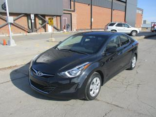 Used 2016 Hyundai Elantra L~6 SPEED MANUAL~POWER WINDOWS~CRUISE~CERTIFIED for sale in Toronto, ON