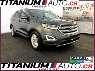 Used 2016 Ford Edge SEL-Camera-GPS-Pano Roof-Leather Heated Seats-Appl for sale in London, ON