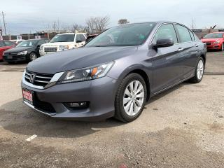 Used 2015 Honda Accord EX-L(CERTIFIED) for sale in Brampton, ON