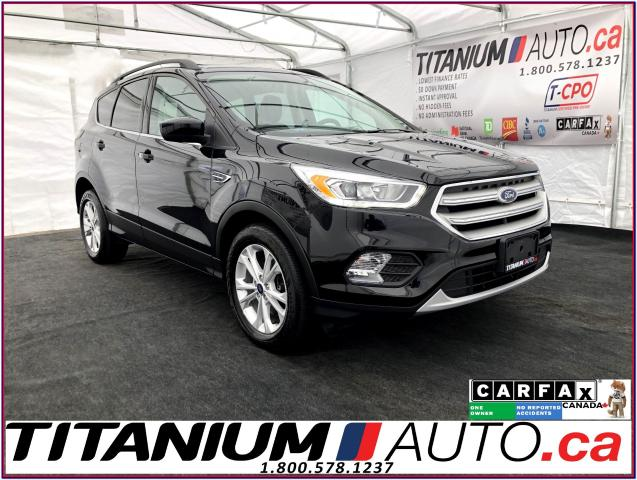 2018 Ford Escape SEL-4WD-Camera-GPS-Pano Roof-Leather Heated Seats-