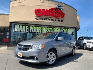 Used 2015 Dodge Grand Caravan Crew+BACK UP CAM+LOADED for sale in Toronto, ON