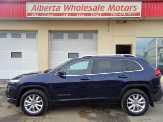 Used 2015 Jeep Cherokee Limited for sale in Edmonton, AB