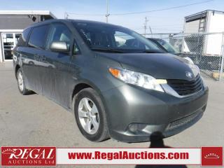 Used 2012 Toyota Sienna LE 4D Wagon 8 Pass for sale in Calgary, AB