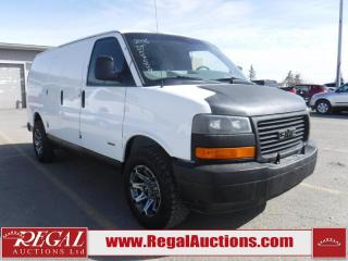 Used 2006 GMC G3500 Vans Savana Cargo VAN for sale in Calgary, AB