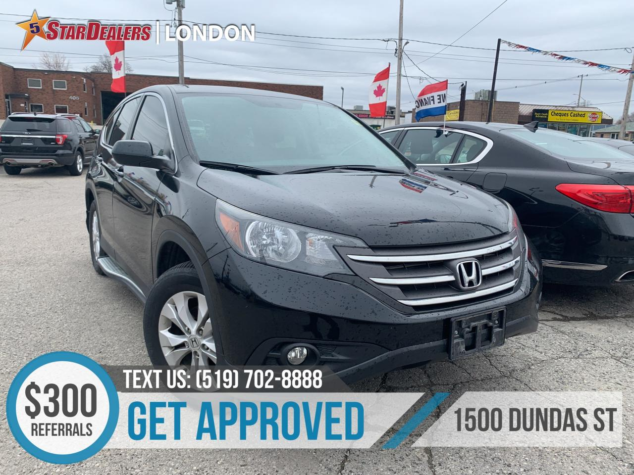 Honda London Ontario >> Used 2014 Honda Cr V Ex Roof Heated Seats 1owner For
