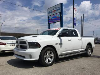 Used 2015 RAM 1500 SPORT * CREW CAB * LS * O *BACK-UP CAMERA*HEATED SEATS* for sale in London, ON