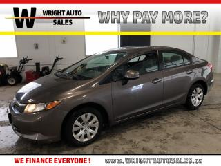 Used 2012 Honda Civic LX LOW MILEAGE BLUETOOTH 84,865 KMS for sale in Cambridge, ON