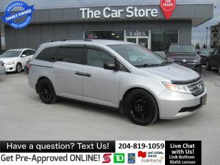 Used 2013 Honda Odyssey LX BLUETOOTH  back cam CRUISE REAR AIR/HEAT LOCAL! for sale in Winnipeg, MB