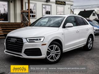 Used 2016 Audi Q3 Technik for sale in Ottawa, ON
