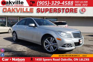 Used 2013 Mercedes-Benz C-Class C 300 4MATIC | CLASSIC PKG | SUNROOF | RARE for sale in Oakville, ON
