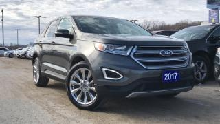 Used 2017 Ford Edge TITANIUM 2.0L I4 ECO LEATHER NAVIGATION for sale in Midland, ON