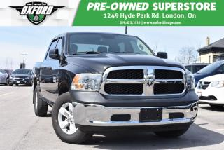 Used 2018 RAM 1500 SXT - One Owner, Extended Warranty for sale in London, ON