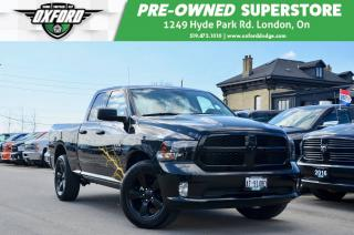 Used 2019 RAM 1500 Express - Low Kms, UConnect/ Bluetooth for sale in London, ON