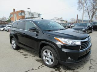 Used 2015 Toyota Highlander Hybrid Limited for sale in Toronto, ON