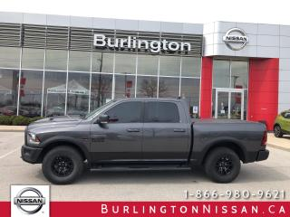 Used 2018 RAM 1500 Rebel, HEMi, EXT. WARRANTY, ACCIDENT FREE ! for sale in Burlington, ON