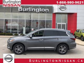 Used 2017 Infiniti QX60 ACCIDENT FREE ! for sale in Burlington, ON