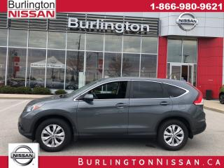 Used 2012 Honda CR-V EX, FWD, MOONROOF, ACCIDENT FREE ! for sale in Burlington, ON