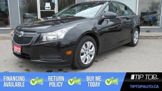 Used 2012 Chevrolet Cruze LT Turbo for sale in Bowmanville, ON
