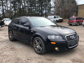 Used 2006 Audi A3 2.0T 6-SPEED MAN| LEATHER SEATS| AUX | APPOINT.ONLY for sale in Newmarket, ON