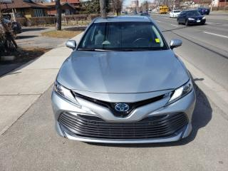 Used 2018 Toyota Camry HYBRID Auto | LEATHER, SUNROOF| HYBRID for sale in Toronto, ON