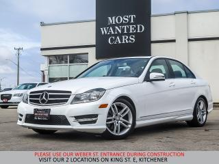 Used 2014 Mercedes-Benz C 300 4MATIC | SPORT | SUNROOF | TAN LEATHER for sale in Kitchener, ON