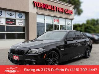 Used 2014 BMW 528 i xDrive M SPORT HUD COLD WEATHER PKG for sale in Toronto, ON