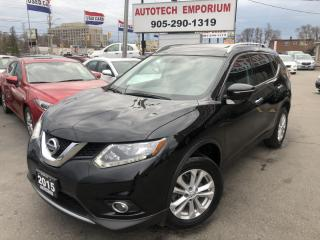 Used 2015 Nissan Rogue SV Family Tech AWD 7-PASS/Navigation/Sunroof/Blindspot for sale in Mississauga, ON