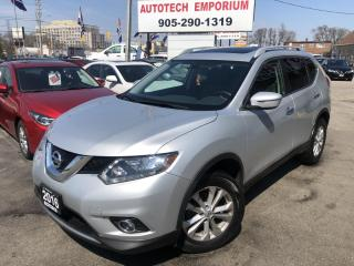 Used 2016 Nissan Rogue SV AWD Pano Sunroof/Camera/Bluetooth/Keyless &ABS* for sale in Mississauga, ON