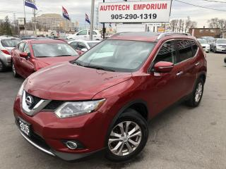 Used 2015 Nissan Rogue SV Pano Sunroof Camera/Btooth/Htd Sts&GPS* for sale in Mississauga, ON