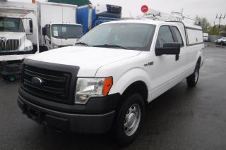 Used 2013 Ford F-150 XL SuperCab Long Bed with Service Canopy Power Inverter & Ladder Rack 4WD for sale in Burnaby, BC