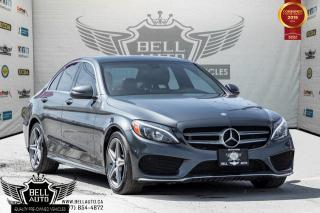 Used 2016 Mercedes-Benz C 300 AMG PKG, 4MATIC, NAVI, PANO ROOF, BLIND SPOT, COLLISION PREVENTION for sale in Toronto, ON