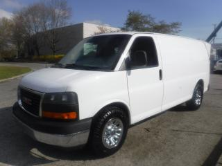 Used 2010 GMC Savana G1500 All Wheel Drive Cargo Van With Rear Shelving for sale in Burnaby, BC