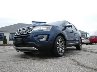 Used 2016 Ford Explorer Platinum- 4X4- LOADED- NAV- REMOTE START- BACKUP CAM for sale in Essex, ON