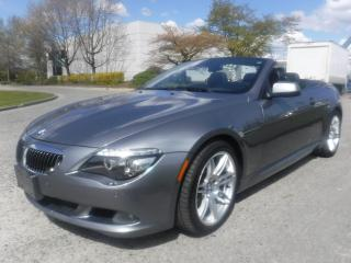 Used 2010 BMW 6 Series 650i Convertible for sale in Burnaby, BC