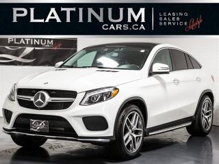Used 2016 Mercedes-Benz GLE350 COUPE, AMG SPORT, NAVI, 360 CAM, PANO for sale in Toronto, ON