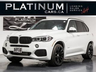 Used 2018 BMW X5 xDrive35d M-SPORT, 7 PASSENGER, NAV, PANO, Premium for sale in Toronto, ON