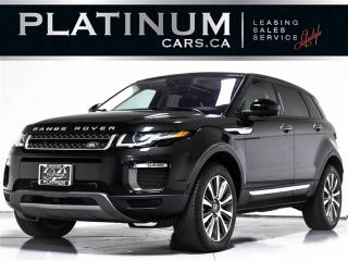 Used 2016 Land Rover Evoque HSE Si4 AWD, NAV, PANO, CAM, HEATED SEATS, KEYLESS for sale in Toronto, ON