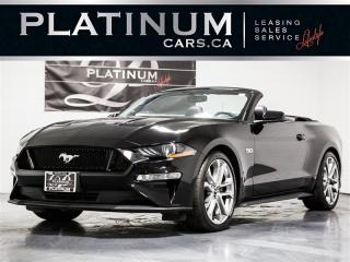 Used 2019 Ford Mustang GT Premium CONVERTlBLE, NAVI, Cooled Leather for sale in Toronto, ON