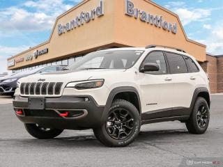 New 2019 Jeep Cherokee Trailhawk Elite  - Navigation - $263.79 B/W for sale in Brantford, ON